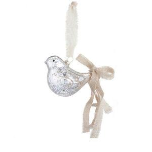 Glass Bird Christmas  Ornament